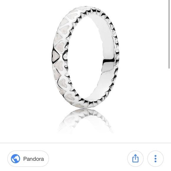 0ddf384f6 Pandora Jewelry | Heart Ring | Poshmark